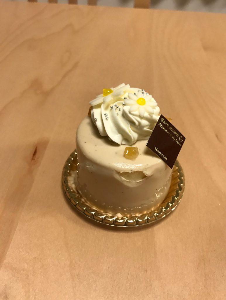 サンタムールのレモンティーケーキ