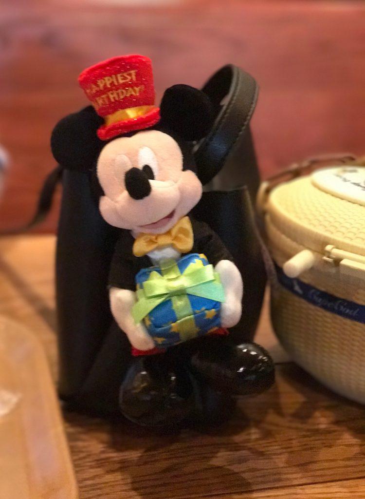 ディズニーランド バースデイセットのミッキー可愛いです