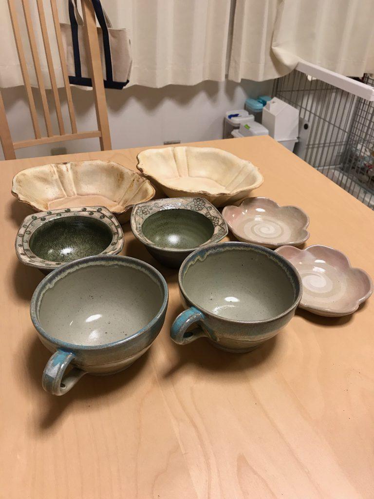 素敵なお皿をいっぱい買っちゃいました