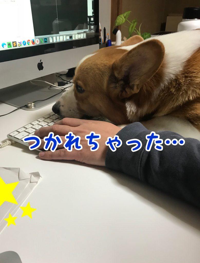 疲れちゃったじょ